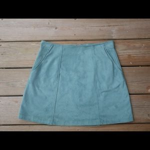 Faux Suede Pac-sun Skirt